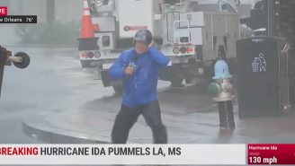 Viewers Mock Weather Channel Reporter Jim Cantore For His Dramatic Hurricane Ida Coverage