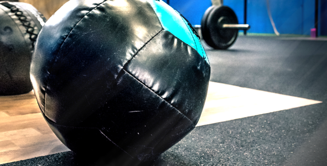 Strongman Baby Goes Viral For Picking Up 15 Pound Medicine Ball