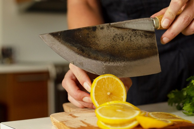 Thai Chef's Moon Knife