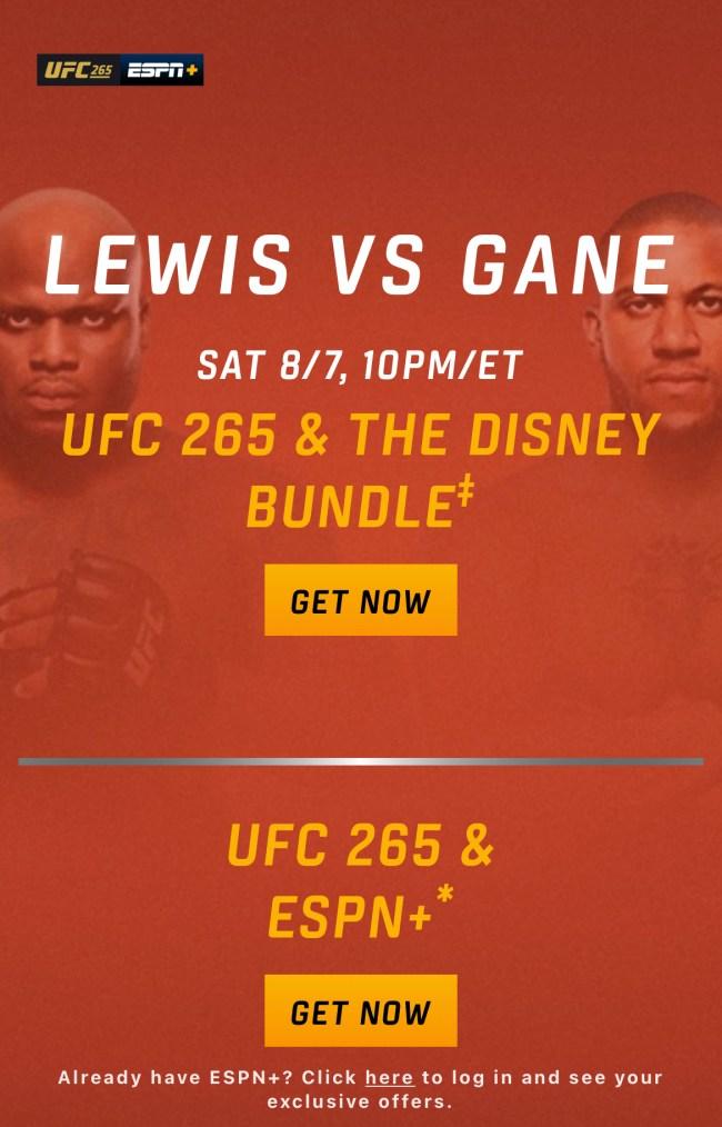 UFC 265 mobile