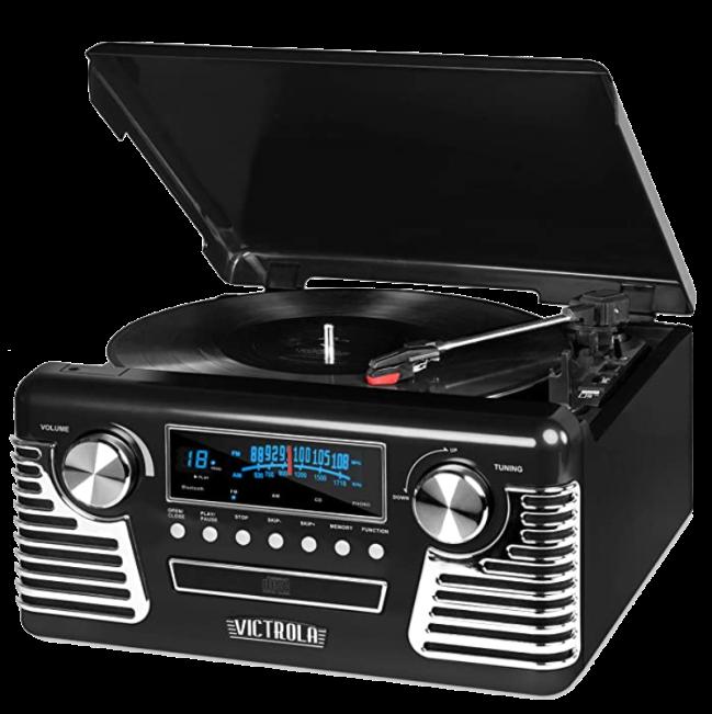 Victrola 50s Retro Bluetooth Record Player