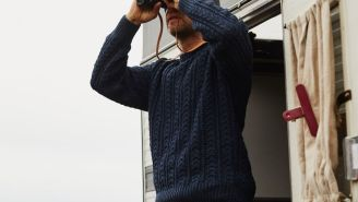 Pick Up A Timeless Fisherman Sweater For The Fall
