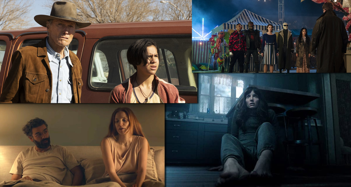 What's New On HBO Max In September: 'Cry Macho, Malignant, Scenes From A Marriage, Doom Patrol' - BroBible