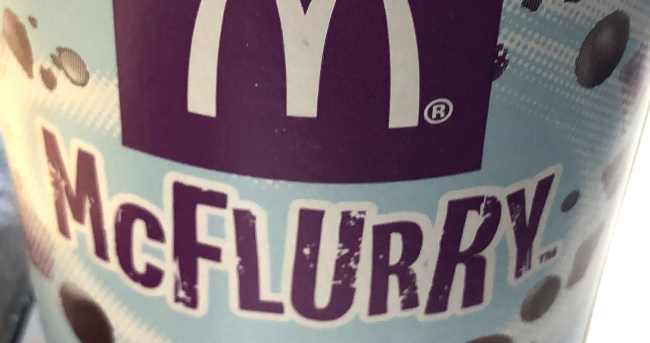 Why The McFlurry Machine Company Was Hit With A Restraining Order