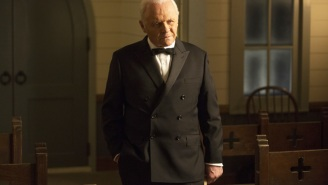 This Is What It's Like To Direct Anthony Hopkins When He's In The Zone, According To The Creator Of 'Westworld'
