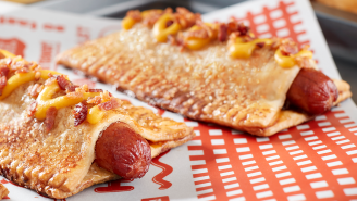 Guy Fieri Is Unleashing A Truly Revolutionary Apple Pie Hot Dog At MLB's 'Field OF Dreams' Game