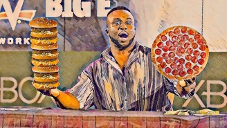 The Visual Representation Of Big E's Daily Calorie Intake To Become One Of The Strongest Powerlifters In The World Is Preposterous