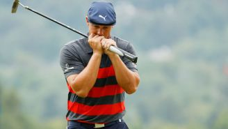 Bryson DeChambeau Reportedly Yells At Fan For Saying 'Great Job Brooksie' Following Playoff Loss
