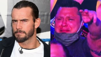 CM Punk Responds To Man Mocked For Crying Tears Of Joy During His Return To Wrestling After Seven Year Hiatus