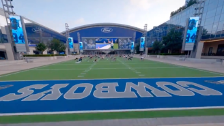 All The Details Behind The Insane Drone Shot Of The Dallas Cowboys Facility Featured On 'Hard Knocks'
