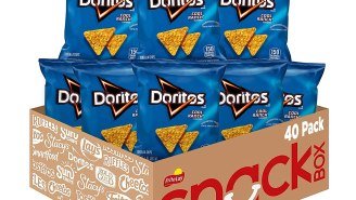 Snag A 40-Pack Of Doritos Snack Bags On Amazon