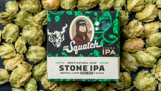 Dr. Squatch Gets Hoppy With Launch of Stone IPA Scented Soap