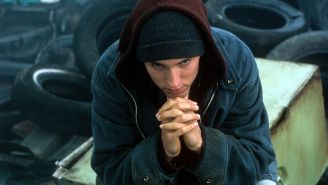 Eminem Is Making A Return To Acting For The First Time Since '8 Mile'