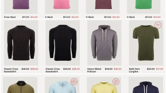These Simple Men's Styles From Fresh Clean Tees Are All Under $45
