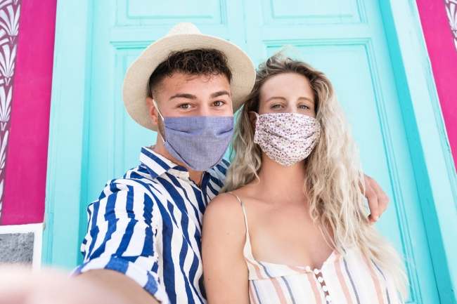 Couples worried about Fear Of Dating Again (FODA) as covid pandemic restrictions ease.
