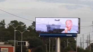North Carolina Billboard Gets Hacked With Joe Biden Memes, Fact-Checkers Confirm It's Real