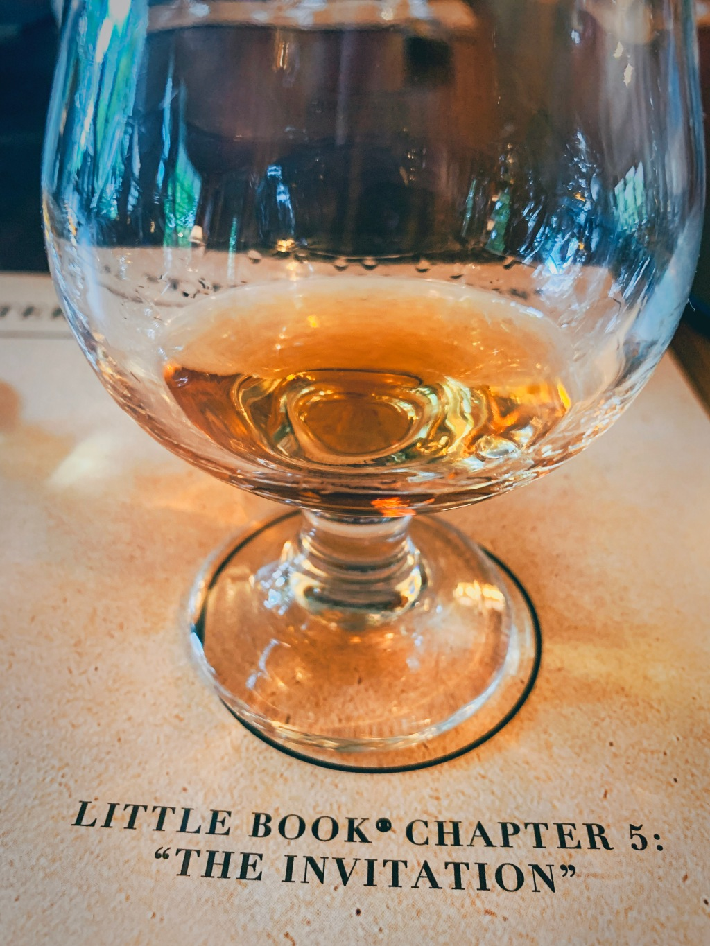 Review Little Book Chapter 5 The Invitation Whiskey Freddie Noe