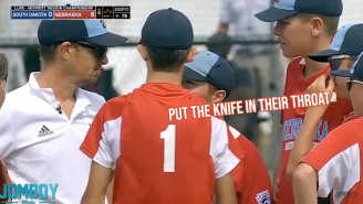 Little League Player Hilariously Blurts Out 'Put The Knife In Their Throat' During Coach's Heartfelt Speech