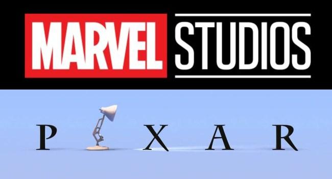 marvel studios and pixar