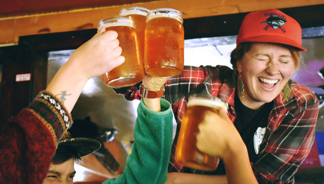 how much beer to get drunk average