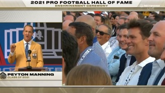 Peyton Manning Roasts Former Rivals Tom Brady And Ray Lewis During Hall Of Fame Speech