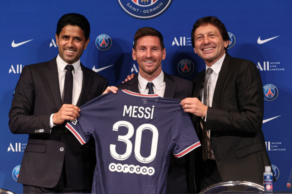 PSG instagram grows by millions of followers after Messi signing