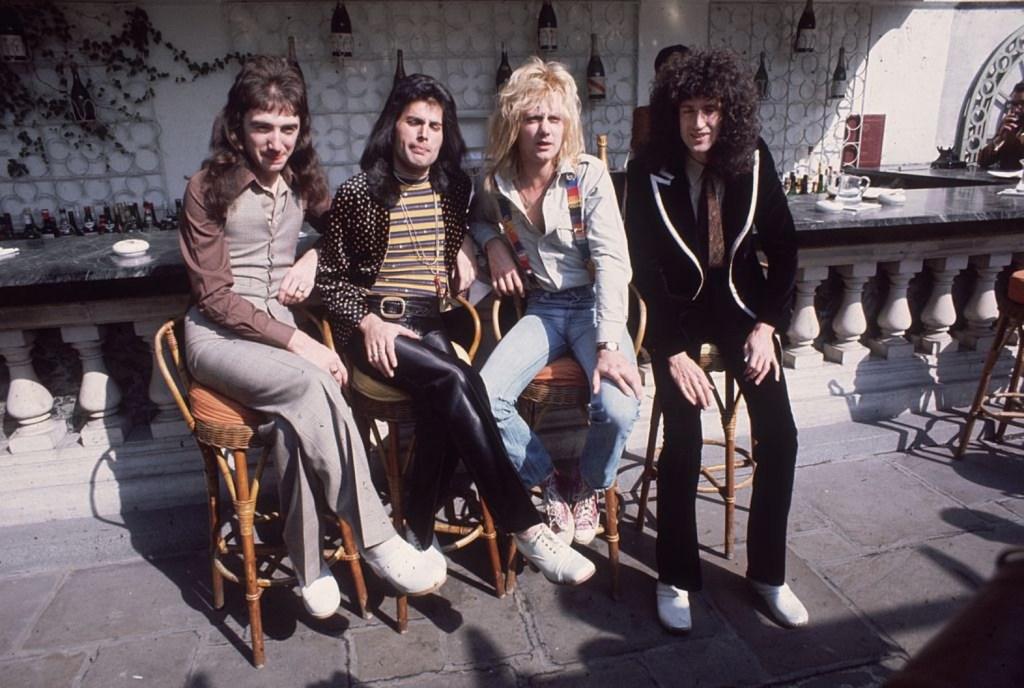Queen the Band Under Pressure David Bowie