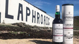 The Laphroaig Cairdeas 2021 PX Edition Is Triple-Matured To Deliver Smoke, Peat, And Hints Of Bacon