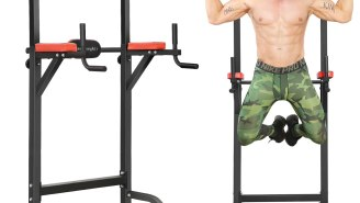 Get Shredded With This Power Tower Workout Pull Up Station – Now 30% Off On Amazon