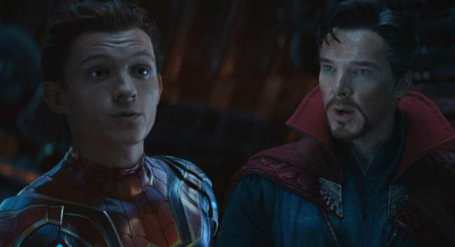 spiderman and doctor strange