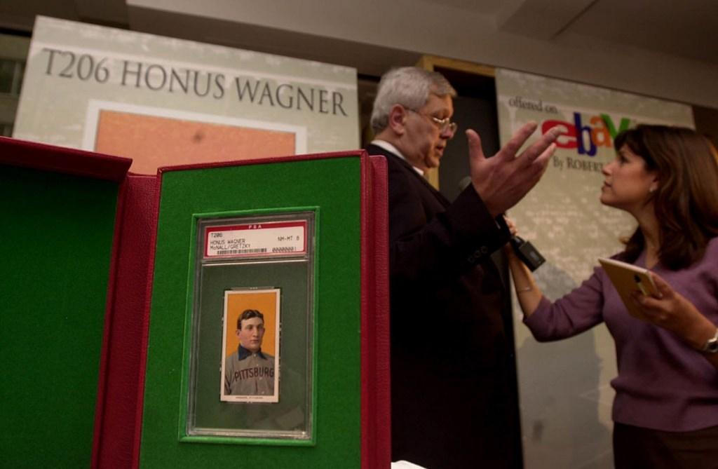 T260 Honus Wagner baseball card record $6.6 million