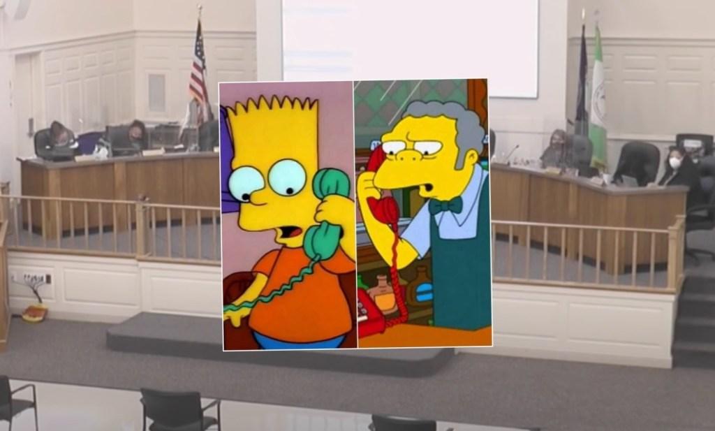 The Simpsons Prank School Board Meeting Henrico County