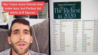 Viral TikTok Ranking Friend Group's Annual Income For Vacation Purposes Exposes $125,000 'Broke Bobby'