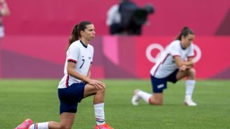 Only One USWNT Player Didn't Kneel Ahead Of The Team's Olympic Bronze-Medal Match