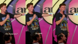 Comedian Trevor Wallace Perfectly Guesses A Guy's Job At A Comedy Show