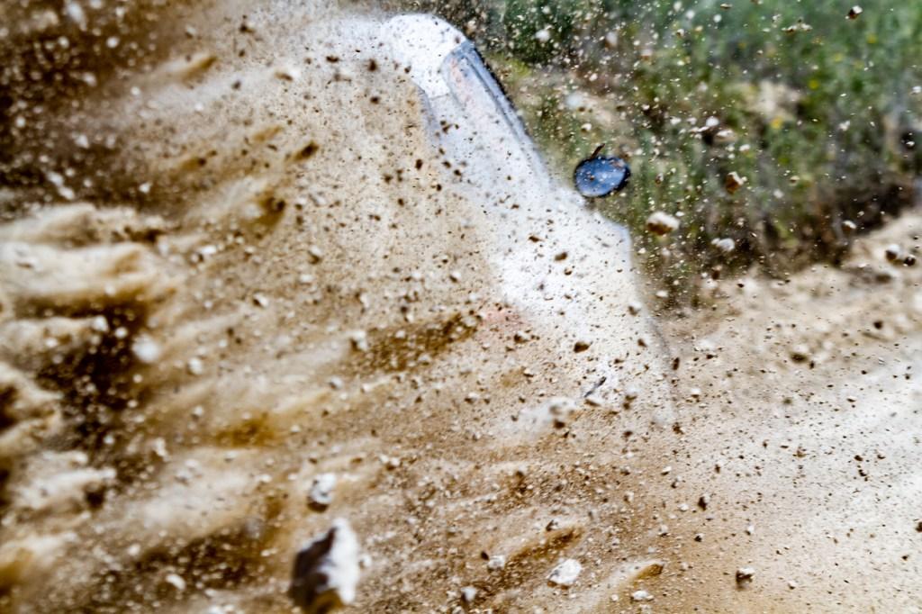 Tucuman Rally race car crash into spectators no serious injuries