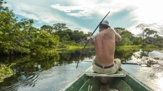 Missouri Bowfisherman Shot A World Record Carp That Looks Like An Amazonian River Monster