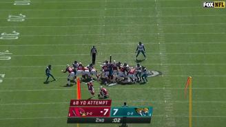WATCH: Jaguars Return NFL's Longest Field Goal Attempt 109 Yards For Longest Play In NFL History