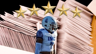 You Won't Believe The Amount Of Mail That A Five-Star Football Recruit Gets In One Day