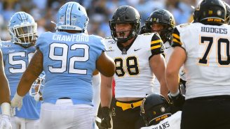 Appalachian State's Senior Tight End Rocking The Brian Bosworth Haircut Is Absolutely Savage