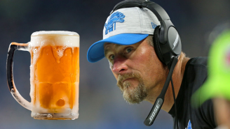 This Story About Dan Campbell Drinking Beers Until The Break Of Dawn Is Perfectly On-Brand