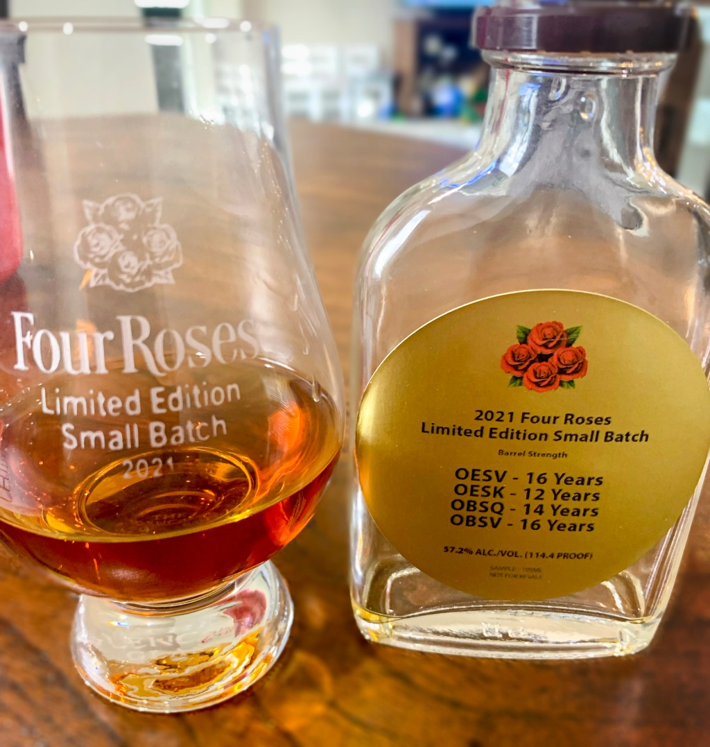 2021 Four Roses Limited Edition Small Batch Details