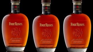 Here's How To Snag The 2021 Four Roses Small Batch Limited Edition Loaded With 16-Year Bourbon