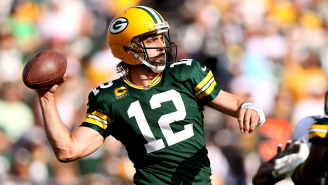 Aaron Rodgers' Rough Postgame Look Is The First Great Meme Of The 2021 NFL Season