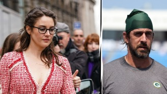 Aaron Rodgers Says Time Away From Shailene Woodley Will Be 'Good,' Shares Odd Affirmation Ritual