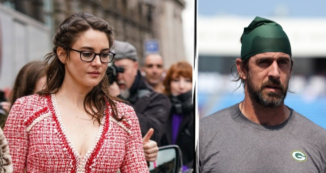 Aaron Rodgers Says Time Away From Shailene Woodley Will Be A Good Thing