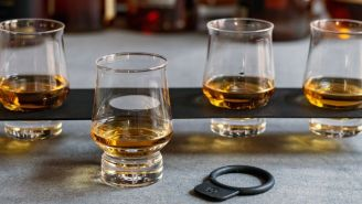 Bring The Distillery To Your Home With This Whiskey Tasting Flight Set