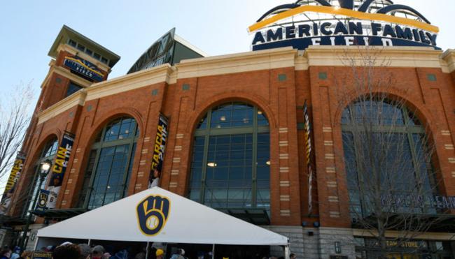 Milwaukee Brewers stadium gross Philly cheesesteak