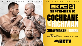 BKFC 21 Live Stream – How to Watch Exclusively on BARE KNUCKLE TV
