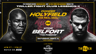 Evander Holyfield To Fight Former UFC Champion Vitor Belfort On Sept 11 In Florida After Oscar De La Hoya Forced Out With Covid